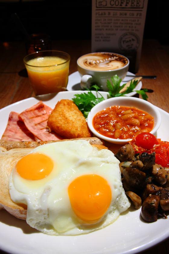 Plan B Breakfast Platter