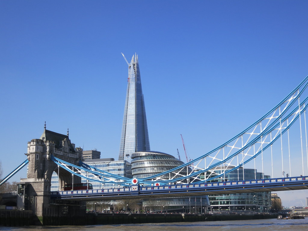 London london bridge tower the shard 1 017 ft for Architecte tower bridge