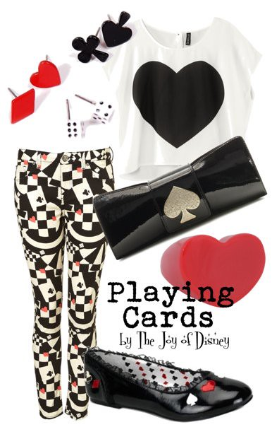 Inspired by: Playing Cards from Alice in Wonderland
