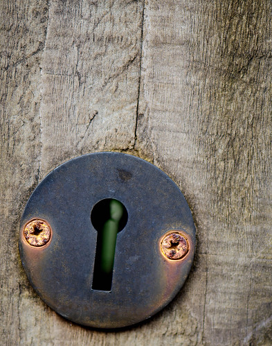 211/365 - Through the Keyhole