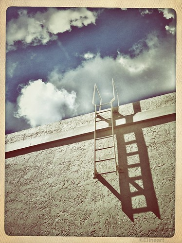 310/365- Stairway to the clouds by elineart