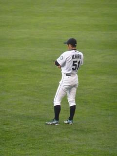 Ichiro in right field