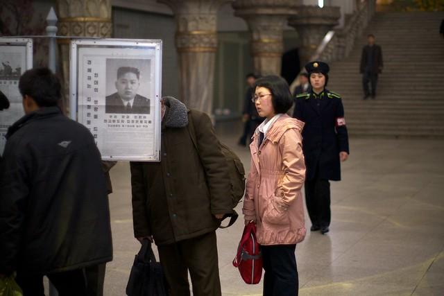 Kim Jong-un Pyongyang Subway