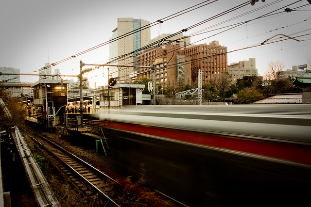 Arrivée en gare
