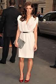 Ashley Greene Cap Toe Heels Celebrity Styling Fashion