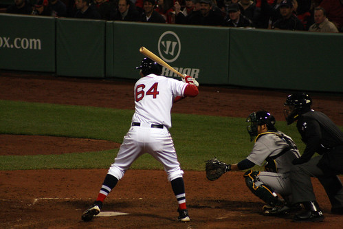 Middlebrooks about to get a double to deep right