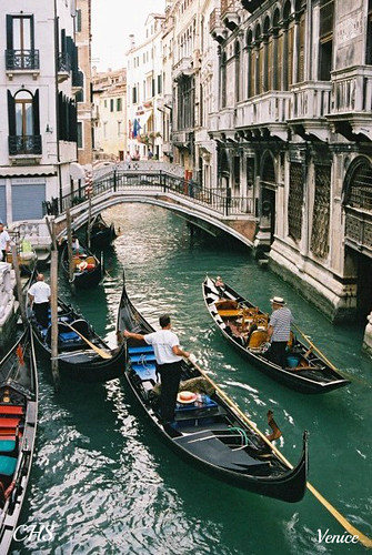 Canal, Venice 35mm (2004) by Stocker Images