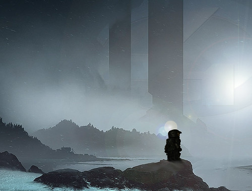 Master Chief Overlook - Halo 4