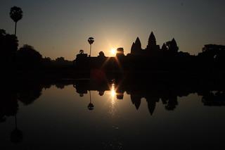 Sunrise at Ang Kor Wat