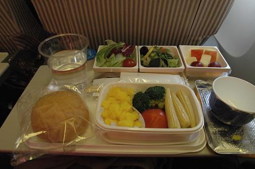 特別機内食:オリエンタルベジ