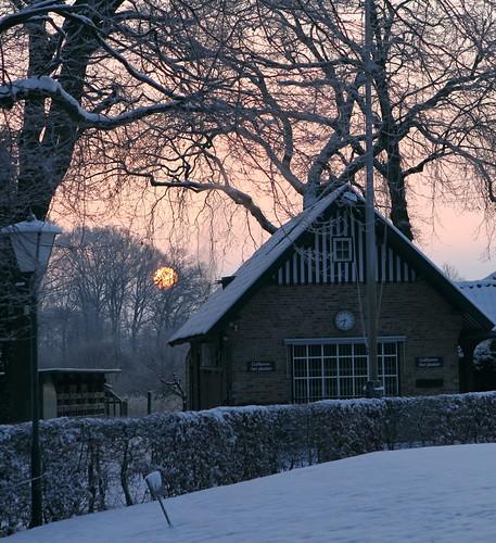 winter nederland 2012 sunsetsunrise gestel hole6 gcddphotoproject golfclubdedommel