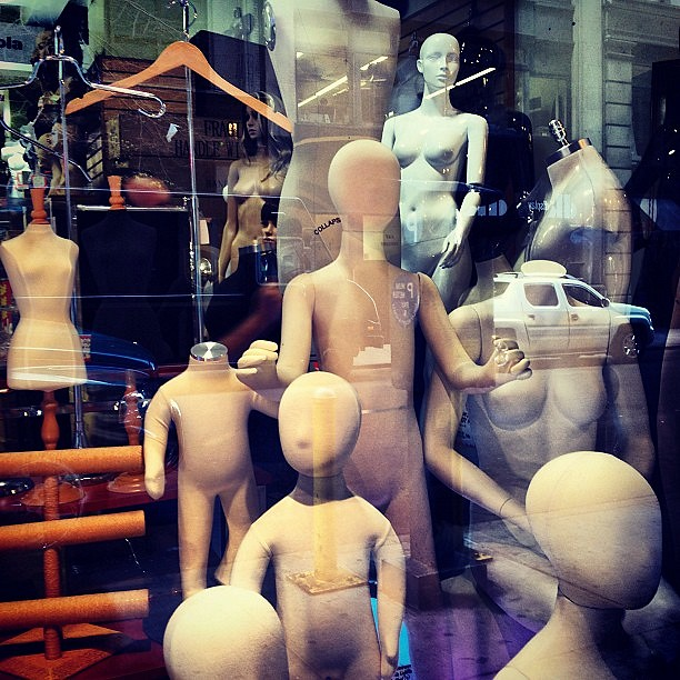 Mannequins - Garment District - NYC