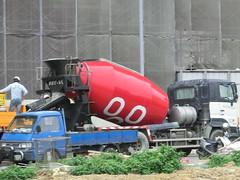 machine, vehicle, transport, concrete mixer,