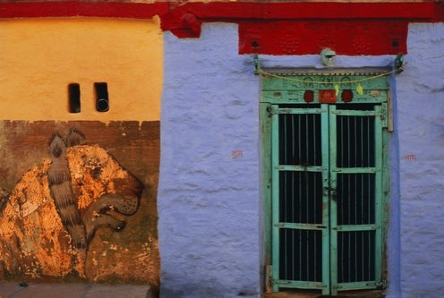 Jeffrey Becom, Tiger Wall, Pokaran, Rajasthan, India, 2008