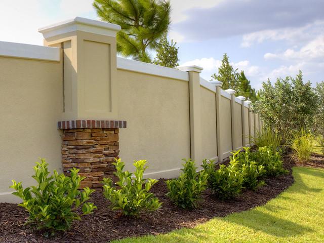 Fencing Concrete Wall Precast Charleston South Carolina 1