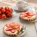 No bake cheesecake with Strawberries