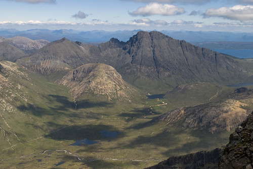 Blaven from the summit of Sgurr nan Gillean