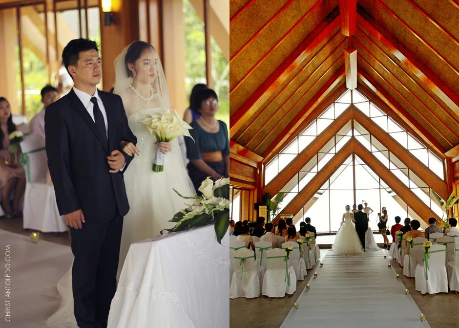 Bruce and Fisher Cebu wedding, Shangrila Mactan
