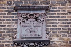 Photo of Christina Georgina Rossetti bronze plaque