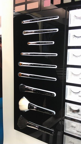 Shu Uemura makeup brushes