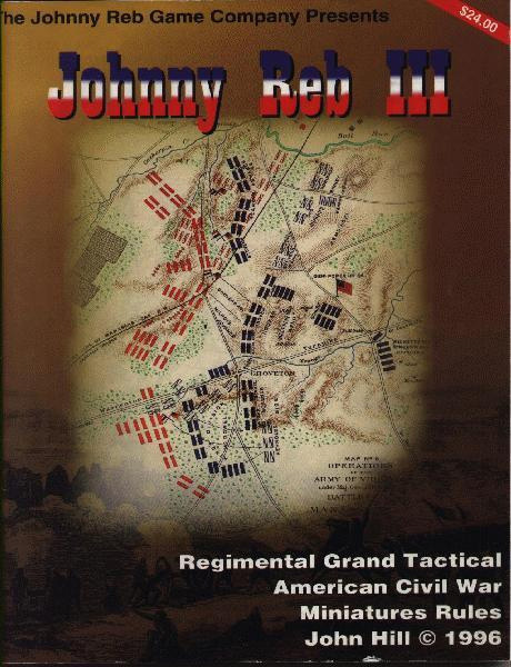 A Web & Wiki for Johnny Reb War Gamers - Johnny Reb