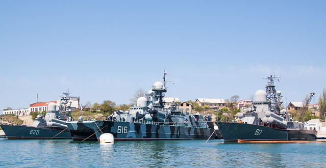 Russian 41st Rocket Boat Brigade: 620, 616, 617
