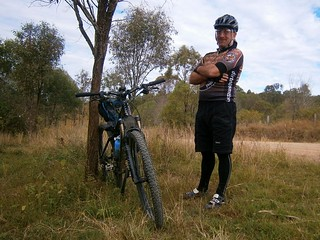 Man and Bike - Tony