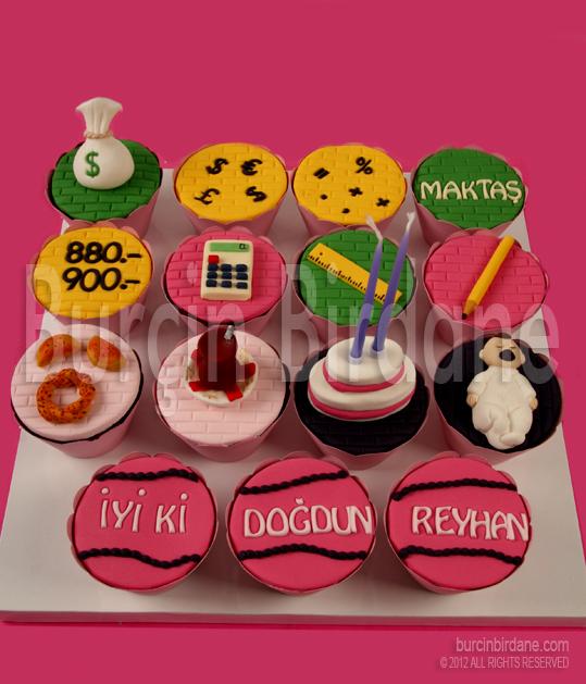 Dogum Gunu Cupcake 1