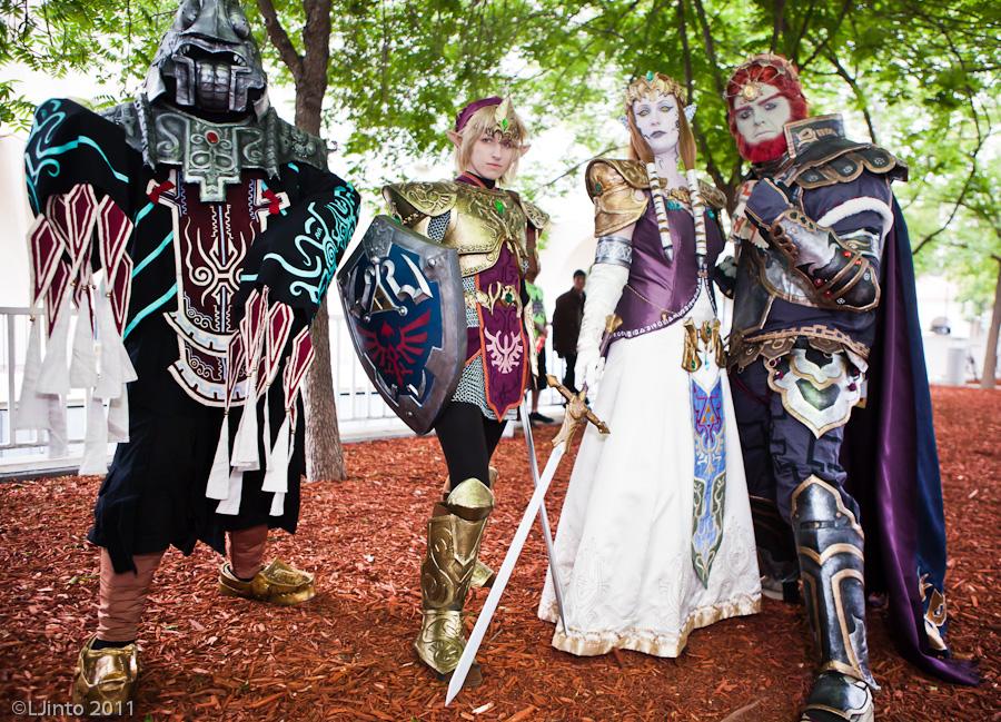 Cosplays Zelda