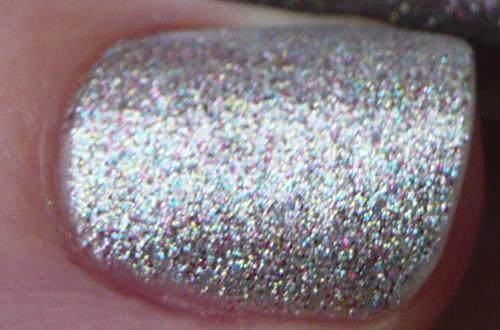 silver multi glitter closeup