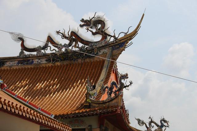 Dragones y tejados