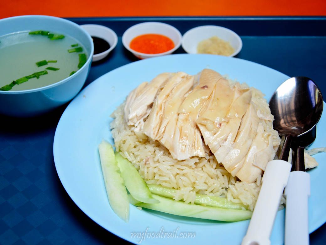 Singapore Hawker Food - Ah Tai Chicken Rice