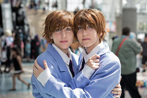 Anime Expo 2012 Cosplay: 常陸院光 & 常陸院馨 from 桜蘭高校ホスト部