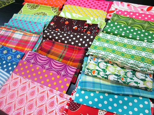 pulling fabrics to match!
