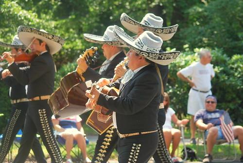 4th - mariachi band players