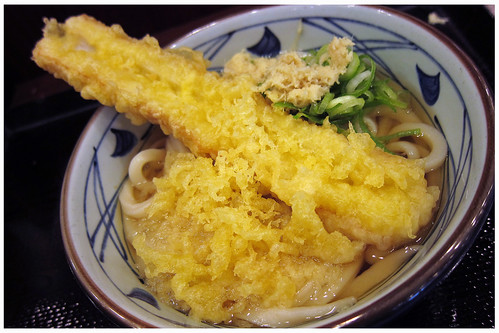 Udon with Chikuwa by melmok