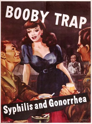 Boobytrap - Anti-Prostitution Poster, WWII