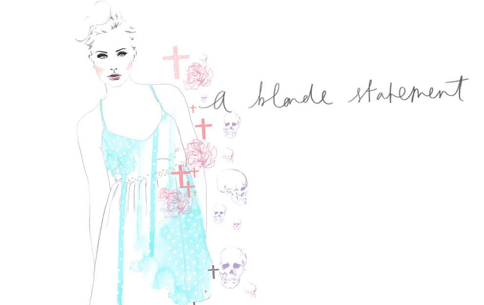 a blonde statement blog banner