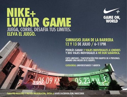 Nike+ Lunar Game