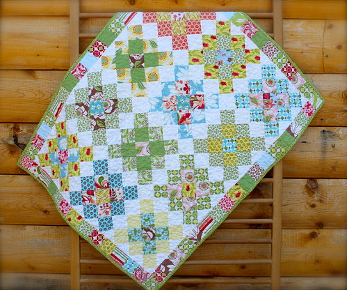 Verna Granny Square Baby Quilt