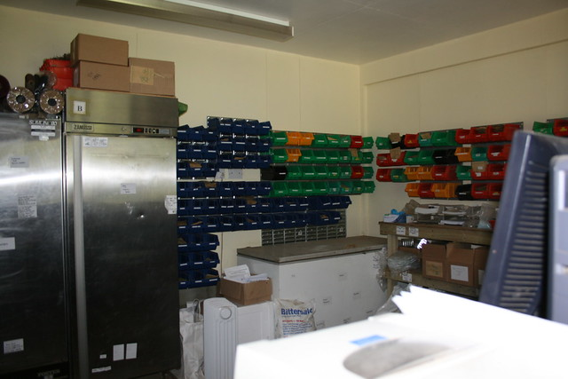 Seed packing room