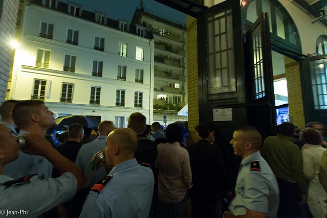 Bal des pompiers caserne Boursault 14 juillet 2012