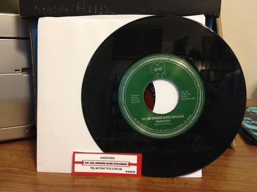 "The Jon Spencer Blues Explosion - Gadzooks! 7"" by Tim PopKid"