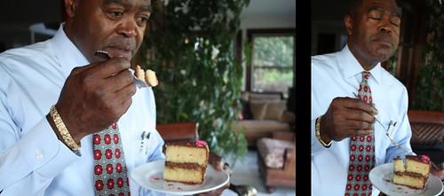 Dad Eats Cake