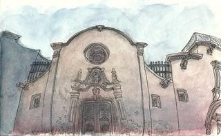Sant Felip Neri - 36th SketchCrawl BCN