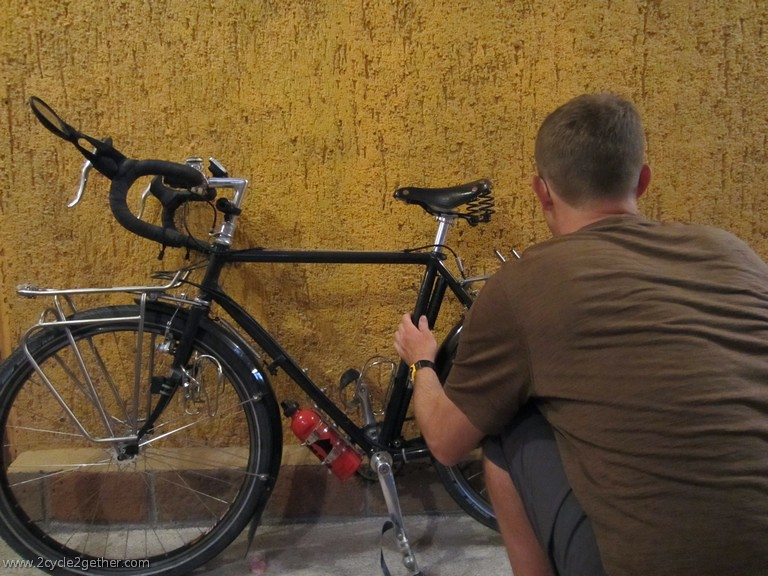 Bike Maintenance in La Paz