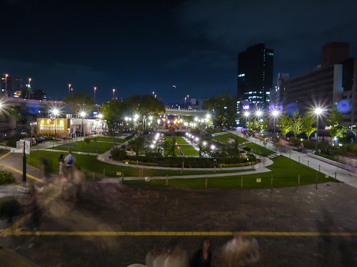Nakanoshima park at night by hyossie