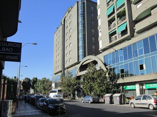 グラナダのHotel San Anton(左側の建物) 2012年6月5日 by Poran111