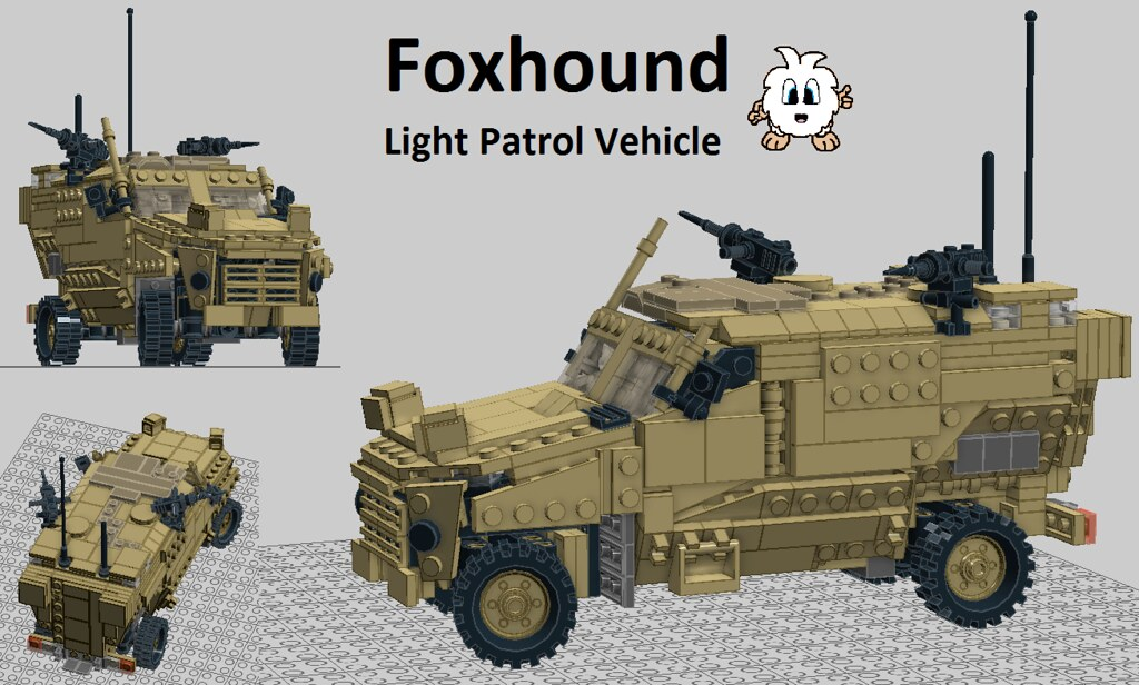 Foxhound Light Patrol Vehicle V210 A Photo On Flickriver