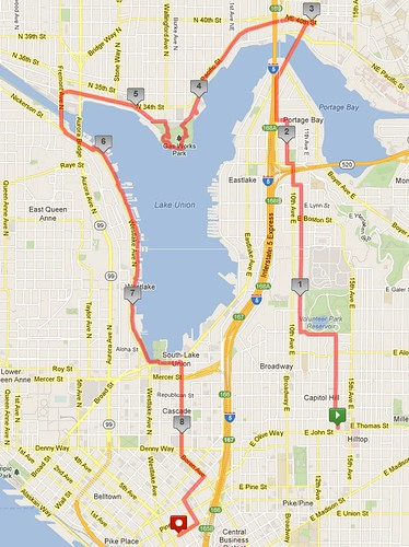 Today's awesome walk, 8.79 miles in 2:46 by christopher575